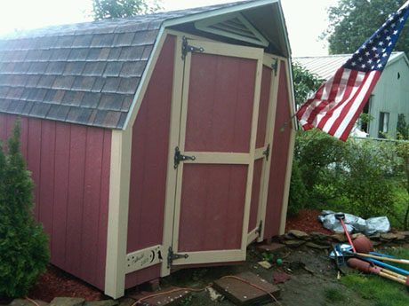 Shed Refurbishing