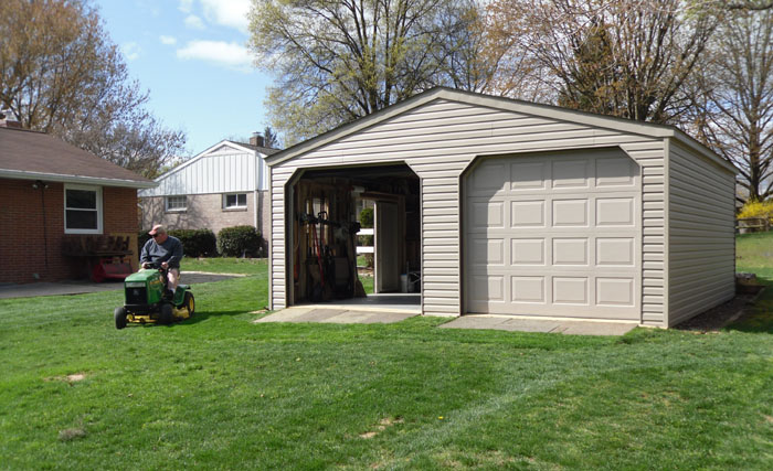 The Modular Doublewide Garage