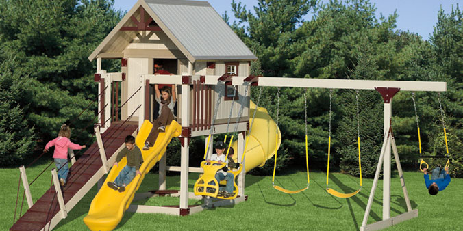 Swingset Package H-68-7