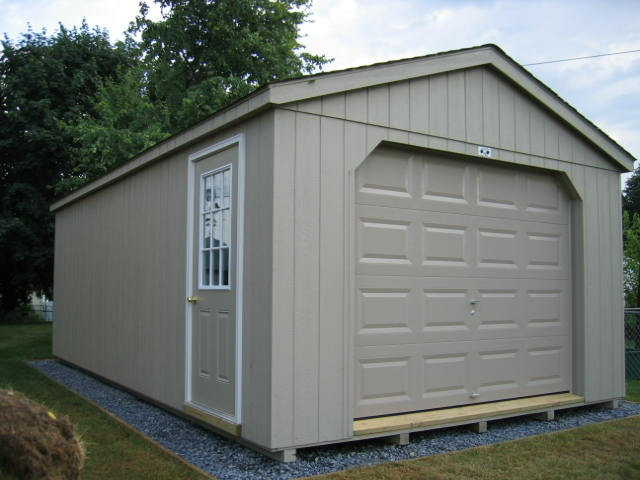 Cottage Garage Style Garden Shed