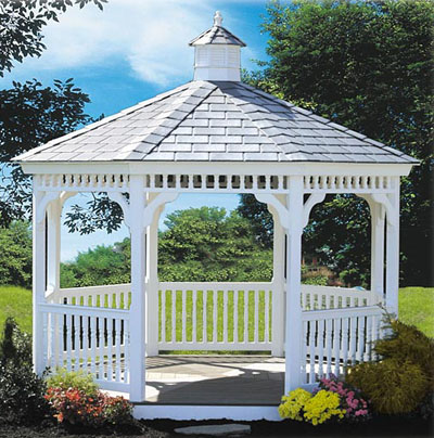 Vinyl Gazebo Features