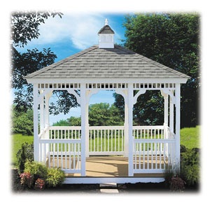 #9 Rectangle Gazebo