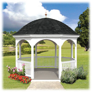 Octagon Dome A Gazebo