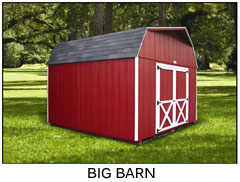 Compare Shed Styles - Big Barn