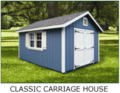 Compare Shed Styles - Classic Carrriage House