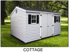 Compare Shed Styles - Cottage