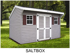 Compare Shed Styles - Saltbox